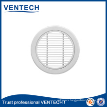 0 Degree Round Linear Air Grille for HVAC System