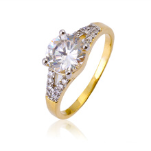 Xuping Elegant Multicolor CZ Zricon Ring