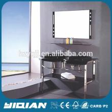 Lavatório de parede suspenso de parede suspenso de vidro