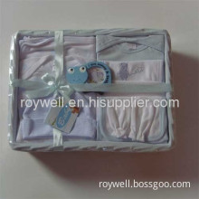 100% Cotton Comfortable Baby Gift Sets
