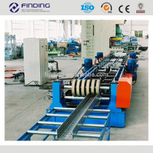 Full automatic cable bridge steel frame construction ladder cable tray punching making machine cable tray roll forming machine