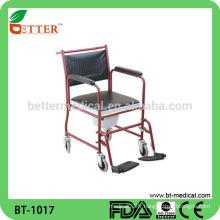 Chaise de commode en acier