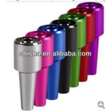 cachimbo de água dicas do cachimbo de água do silicone mangueira alumínio dicas shisha alumínio lidar com dicas