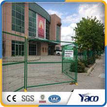 Panneaux de clôture de treillis soudés prix usine, clôture temporaire