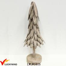 Деревянные кусочки Потертый шик Home Decor Винтажные рождественские украшения