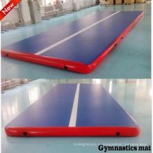 Высокое качество падение стежка надувной спортзал матрас для гимнастики обучения