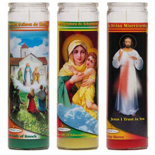 Mexico 7 Days Religious Church Candle