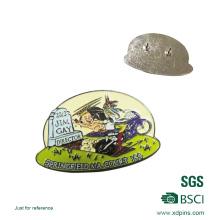 Emblema feito sob encomenda do Pin do metal bonito dos desenhos animados para crianças