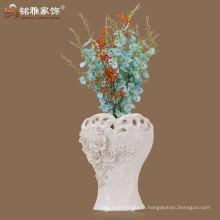 vase en céramique en verre glacé au style classique