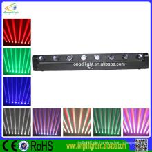 Night Club Rotating Light 8 * 10w LED Strahl beweglichen Kopf Licht bar