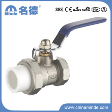 PPR Female Ball Valve with Union Copper Core&Body