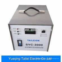 SVC-3000VA llevó el estabilizador y el regulador automáticos del voltaje de la CA