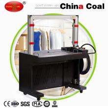 Máquina de empaquetado semiautomática de la empaquetadora de la caja del cartón de la herramienta del fleje SGD-01