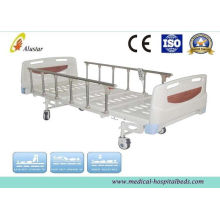 Height Adjustablel Hospital Electric Bed With Aluminum Alloy Guardrail (als-e304)