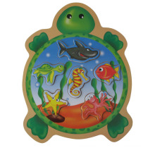 Wooden Puzzles Animal Shaped Wooden Toy (34205A)