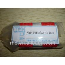 Guide linéaire de bloc linéaire Thk SR15W1UU