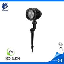 Resistente a la corrosión resistente al agua 6W lámpara al aire libre