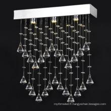 K9 lustres en cristal bar clair lustre éclairage