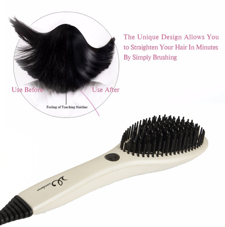 Hair Straightening Nano Brush