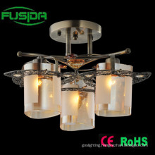 Fancy Brass Indoor Glass Vintage Chandelier Ceiling Lighting
