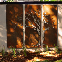 Wall Sculpture Laser Cut Steel Wall Art