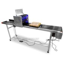 New designed egg date bar code printing machine/egg stamping machine/inkjet egg printer for sale