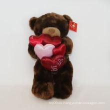 Plüsch Faux-Pelz-Liebes-Bären