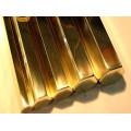 Barre ronde en cuivre rouge rond / barre de cuivre rouge dia 5-- 100mm C11000