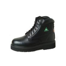 """6"""" ККА черные рабочие ботинки"""