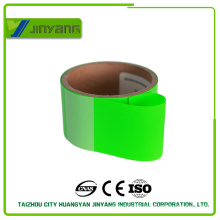 colored hi viz activated adhesive film reflective fluorescent heat-transfer film