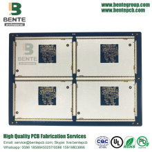 6-Lagen Multilayer PCB Board FR4 Tg150 ENIG 2U