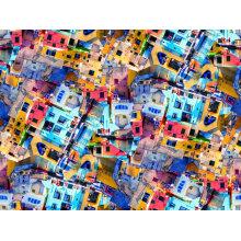 Digital gedrucktes Gewebe Nylon für Badeanzug (ASQ094)