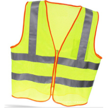 High Visibility Safety Vest with Crystal Tape