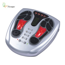 Electric Stimulation Vibrating Acupuncture Foot Massager for Health Protection