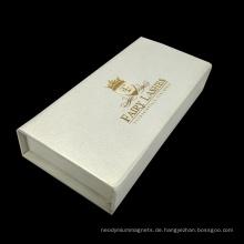 Magnetverschluss Buch Form Wimpern Geschenkverpackung