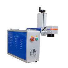20w Fiber Marking Laser with Rotary Device Jewelry Laser Marking Machine