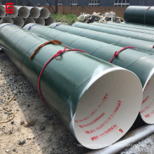 ASTM A252 large diameter structure SSAW steel pipe spiral welded steel pipe
