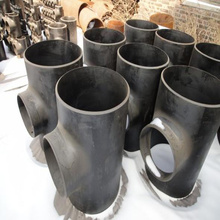 ASME/DIN/GOST/EN welded steel pipe fitting tee