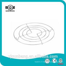 Tapis métallique de cuisine de 20 cm avec quatre cercle
