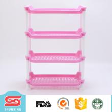Artículos para el hogar 4 capas de almacenamiento de plástico cocina spice rack con precio bajo