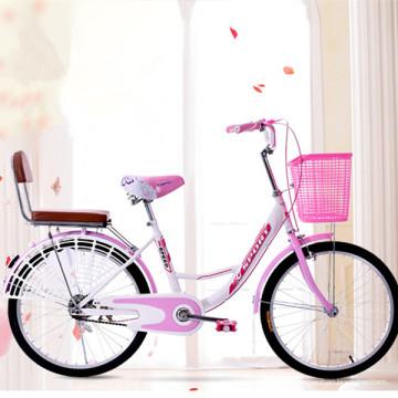 China Popular Street City Bike Ladies Cycle Pink Bicicleta en venta