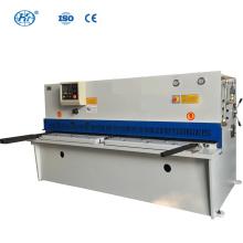 Machine de cisaillement hydraulique de poutre d'oscillation de commande numérique par ordinateur de QC12K-4X3200