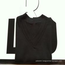Cheap Offset Printing 100% Cotton V-Neck T Shirt for Men