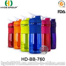 Garrafa de água de Tritan 800ml, plástico beber a garrafa (HD-BB-760)
