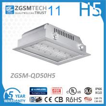 Lumière intégrée d'auvent 50W LED 120W / W Philips SMD 3030 puce