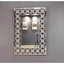 Dekorativer Spiegel aus Glas