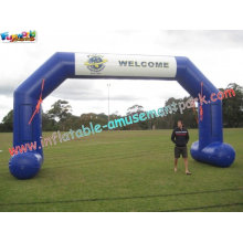 Outdoor Large Advertising Inflatable Arch Rip-stop Nylon Material