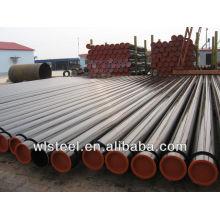 Erw astm a53 a106b schedule 80 usine de traitement des tuyaux en acier