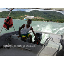 Motor fueraborda duradero Sail 2 tiempos 40HP para pescador