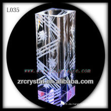Schöne Kristallvase L035